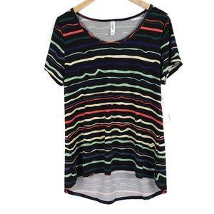 NWT Lularoe Classic T Multicolor Short Sleeve Top